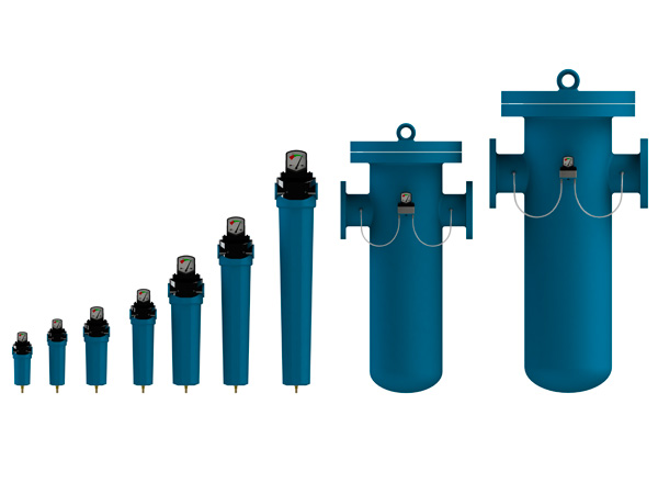 Compressed-air-system-components